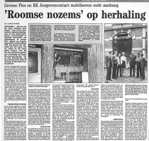 25 maart 1993 reunie