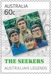 LEGENDSThe-Seekers_Stamp_60c_Australian-Legends-of-Music_2013_low-res