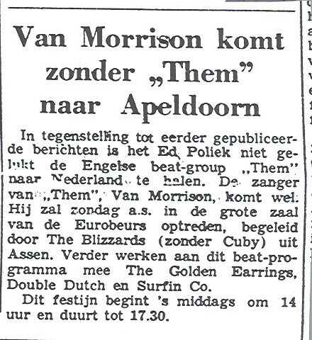 Newspaper article 1967